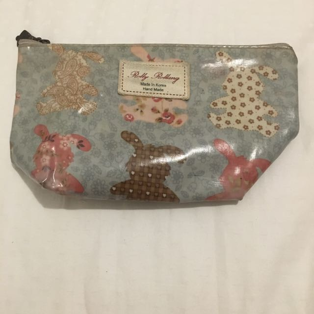 Bunny Cosmetic Pouch