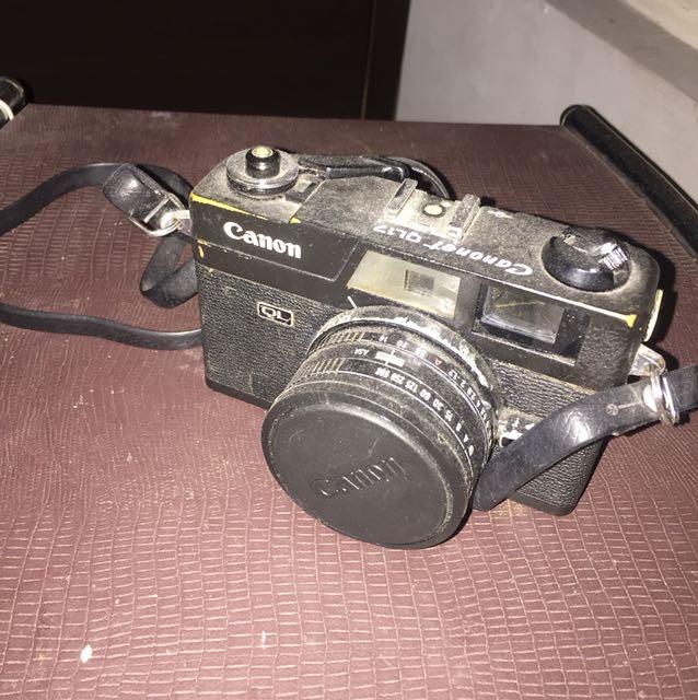 canonet ql17 black