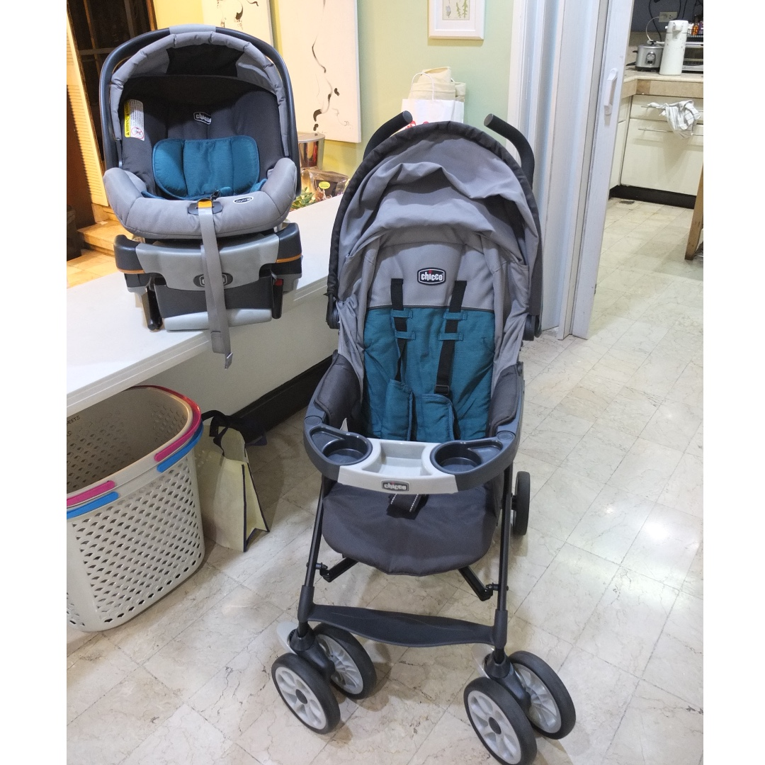 Chicco Neuvo Stroller And 360 Keyfit Carrier Car Seat Babies Kids Prams Strollers On Carousell