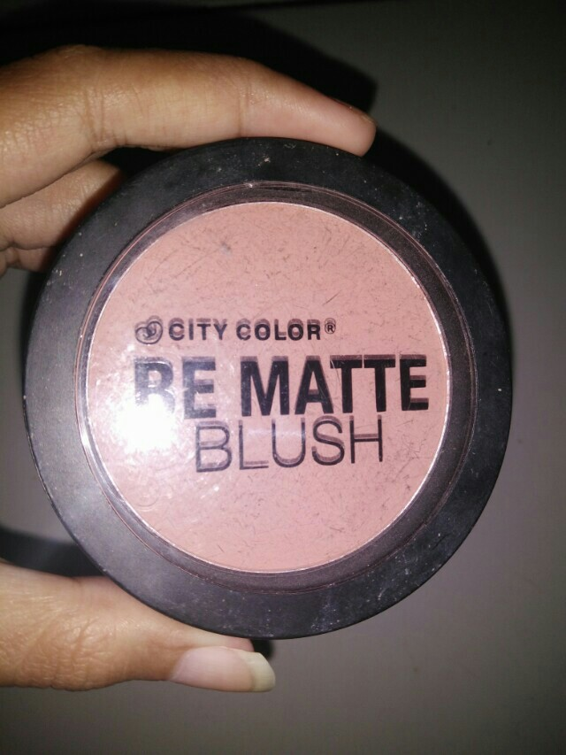City color Be Matte Blush (Sweet Pea), Health & Beauty, Makeup on Carousell