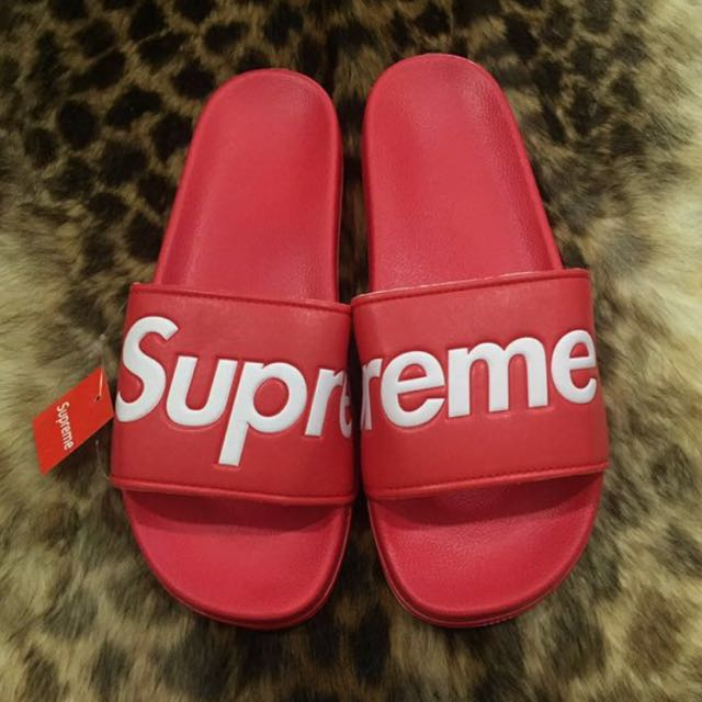 Supreme Flip Flops Stockx - Just Me And Supreme
