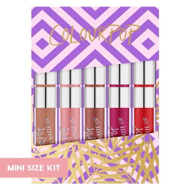 Colourpop: Foxy (Mini Kit)