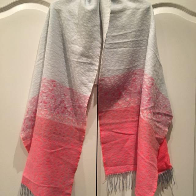 Cotton & Wool Pastel Scarf from Gap