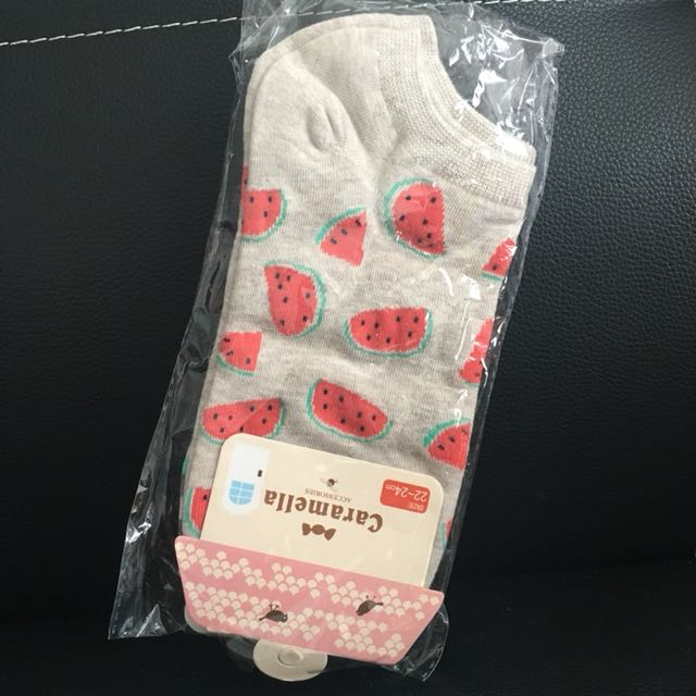 Couple socks in one package