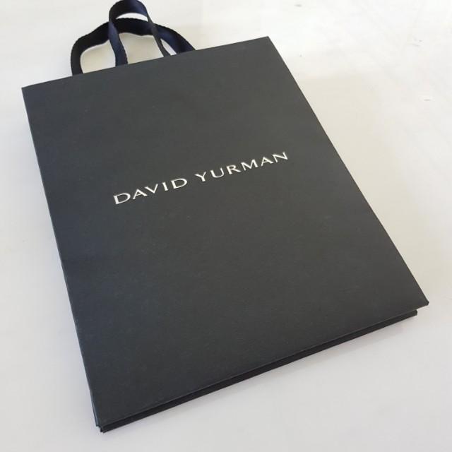 DAVID YURMAN Paperbag