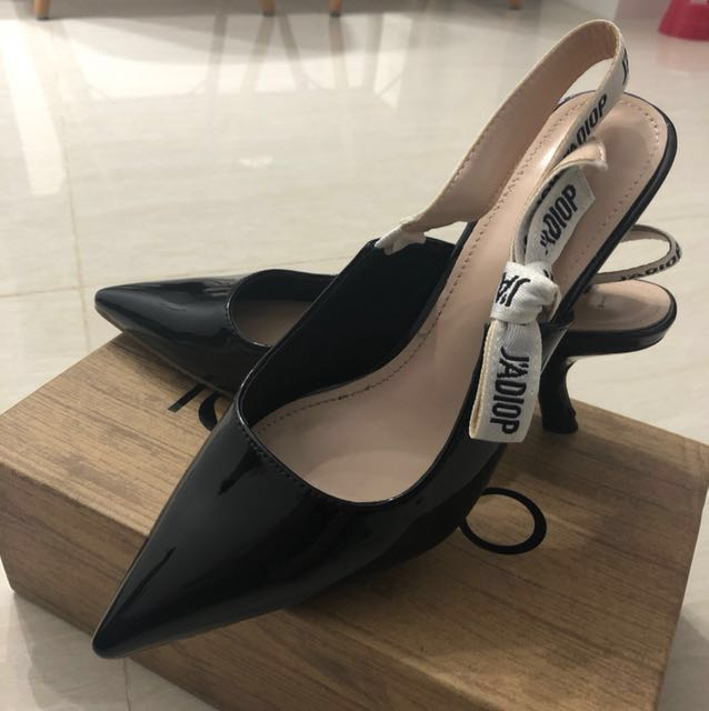 6f779121baf Dior-Inspired Slingback Kitten Heels (CAT NOT INCLUDED!)