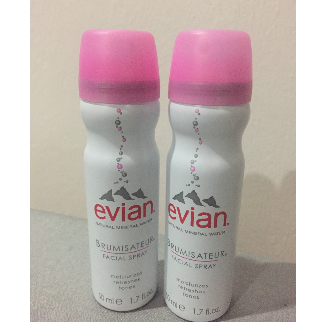 Evian Facial Spray 50ml Health Beauty Skin Bath Body On 300 Ml Carousell