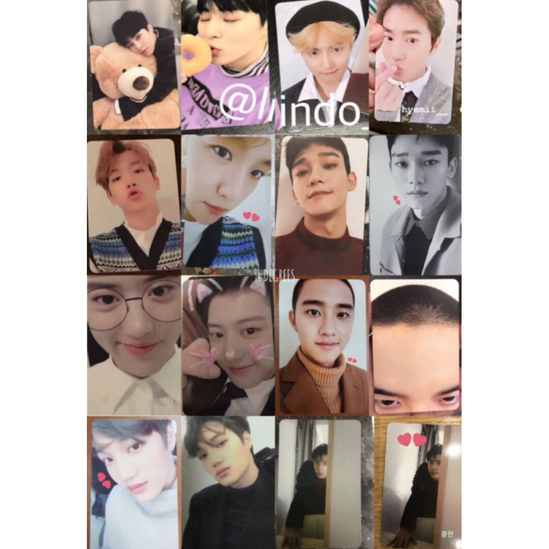 EXO Winter Album Universe Official Photocard