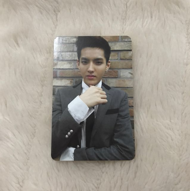 EXO XOXO Repackaged Growl Kris Photocard