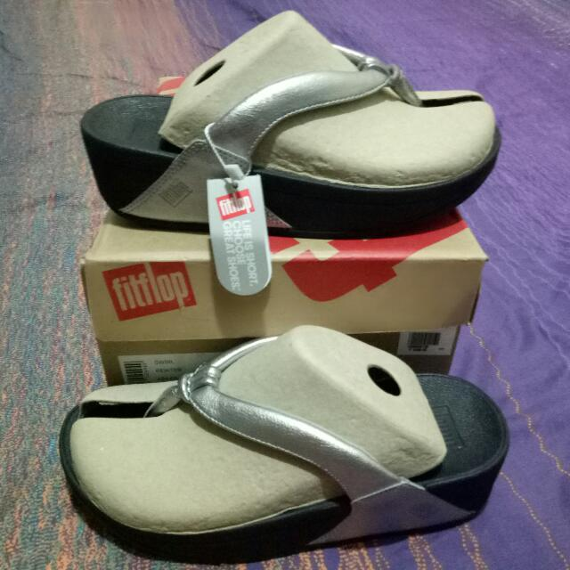 Fitflop Swirl Pewter ORIGINAL
