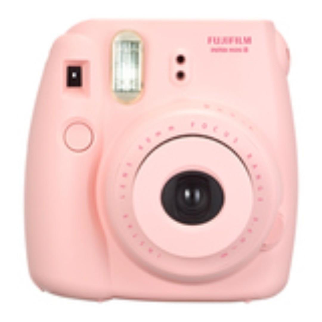 FUJIFILM 拍立得相機MBH3 mini8 含卡通底片10張 #好市多代購