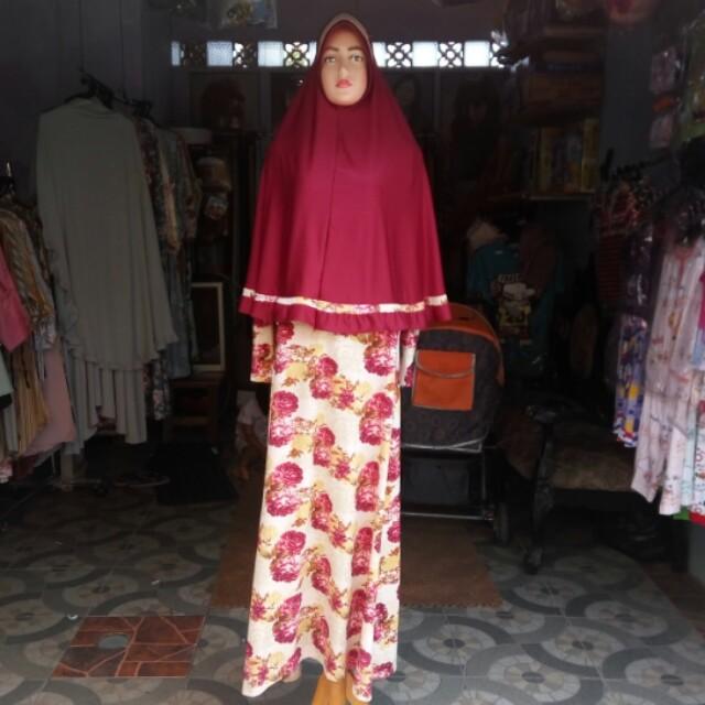 Gamis / abaya / busana muslim