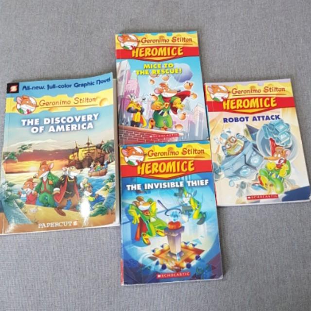 Geronimo Stilton Books Stationery Childrens On Carousell
