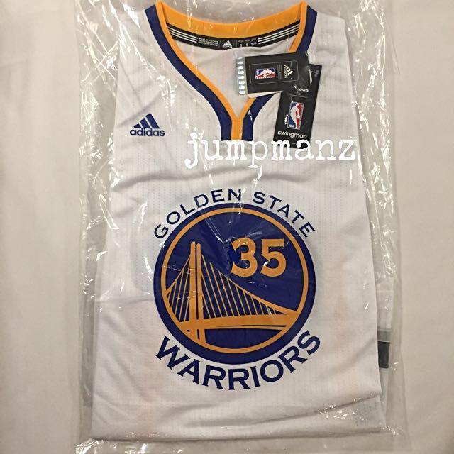 b6586d18c82 Golden State Warriors Kevin Durant  35 - NBA Adidas Swingman Jersey ...