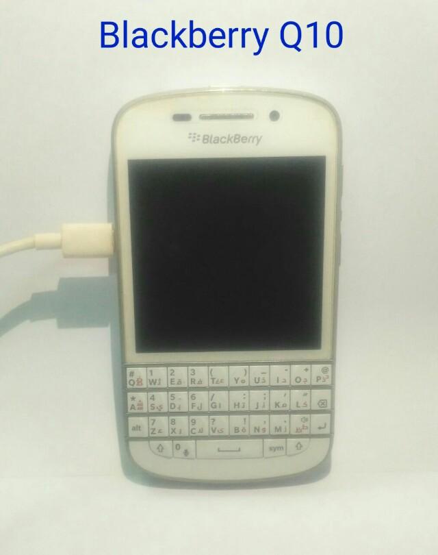 Handphone Blackberry Q10 Batangan Mobile Phones Tablets Mobile