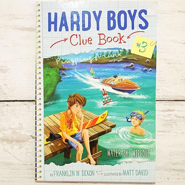 Hardy Boys, Clue Book#3: Water Ski Wipeout