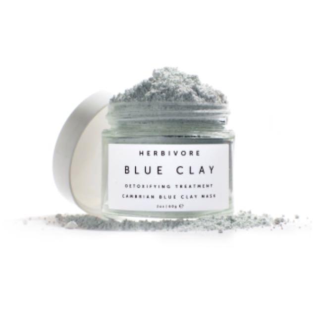 Herbivore Blue Clay Spot Treatment Mask