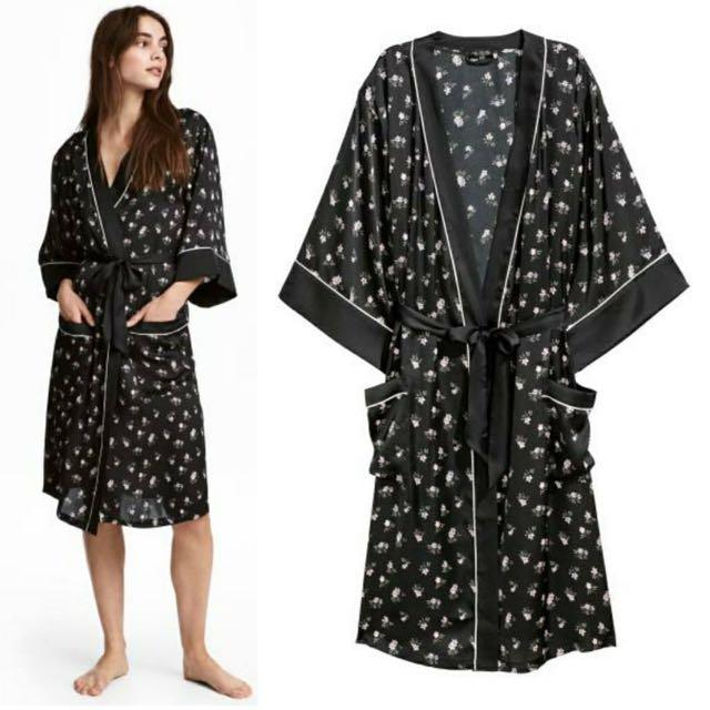 H&M Silk Kimono