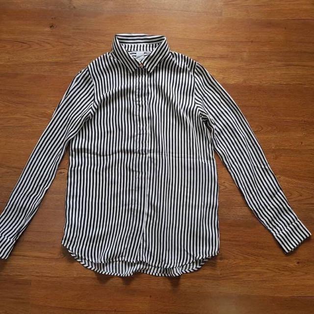 H&M Stripes Blouse