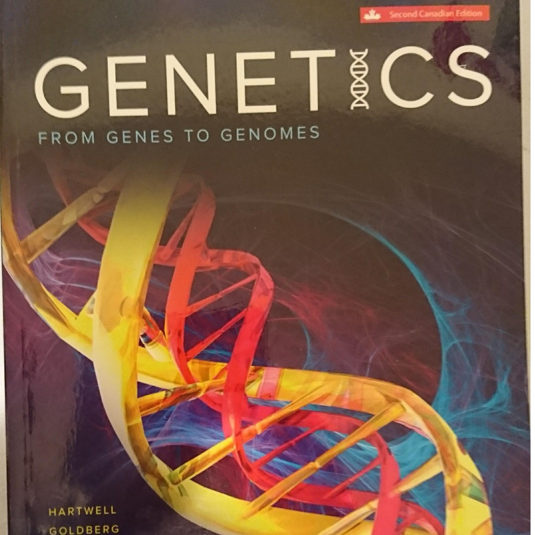 [HMB265] Genetics: From Genes to Genomes 2nd Canadian Edition, Hartwell et al. + Solution Manual