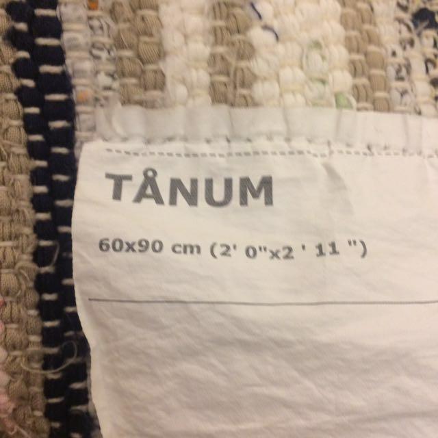 Ikea Tanum rug + 1 FREE rug