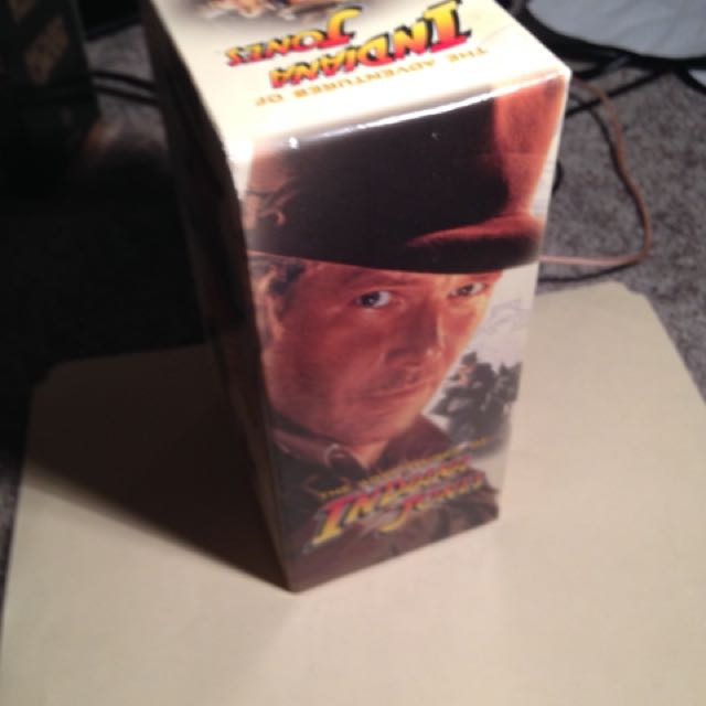 Indiana Jones Trilogy Digitally Remastered VHS Boxed Set