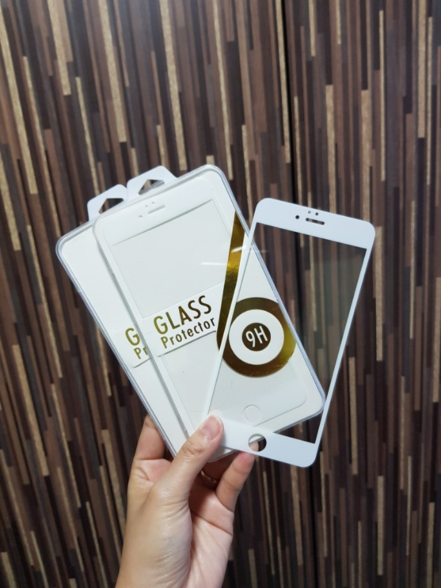 iPhone 6S Plus Full Tempered Glass Screen Protector