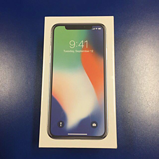 iPhone X silver 64gb (Pending)