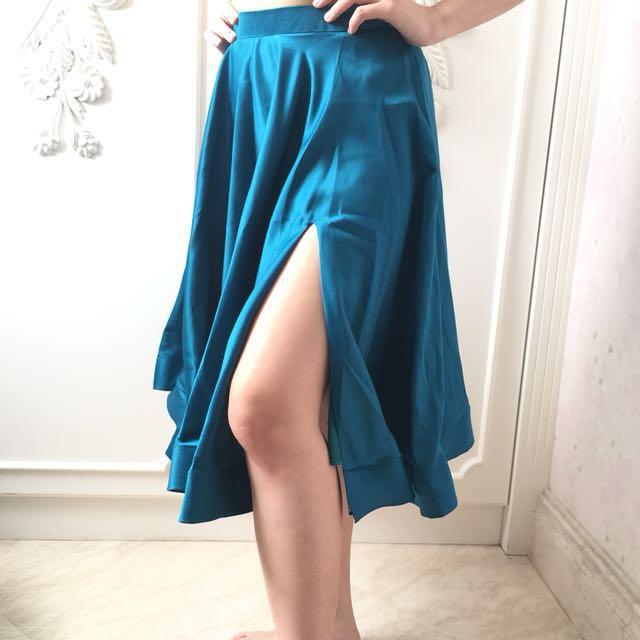 Jolie Clothing Turquoise Skirt