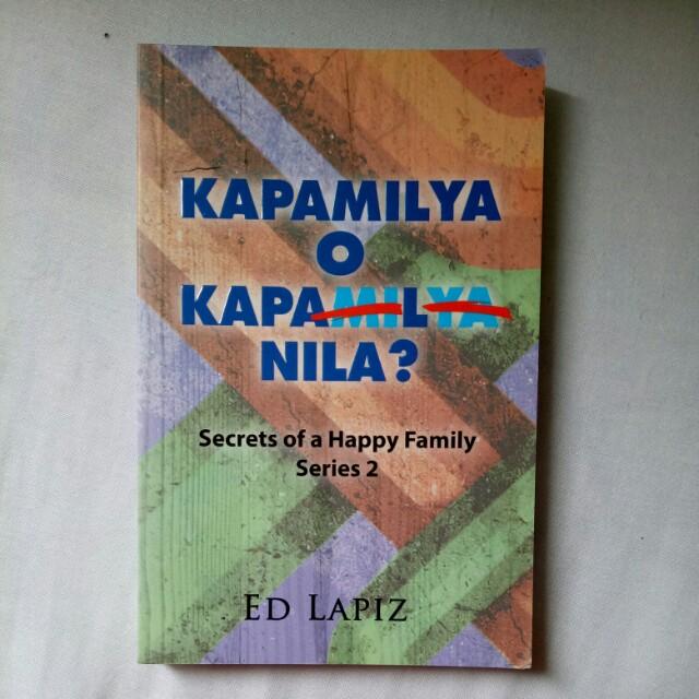 Kapamilya o Kapal Nila (Secrets of a Happy Family Series 2)