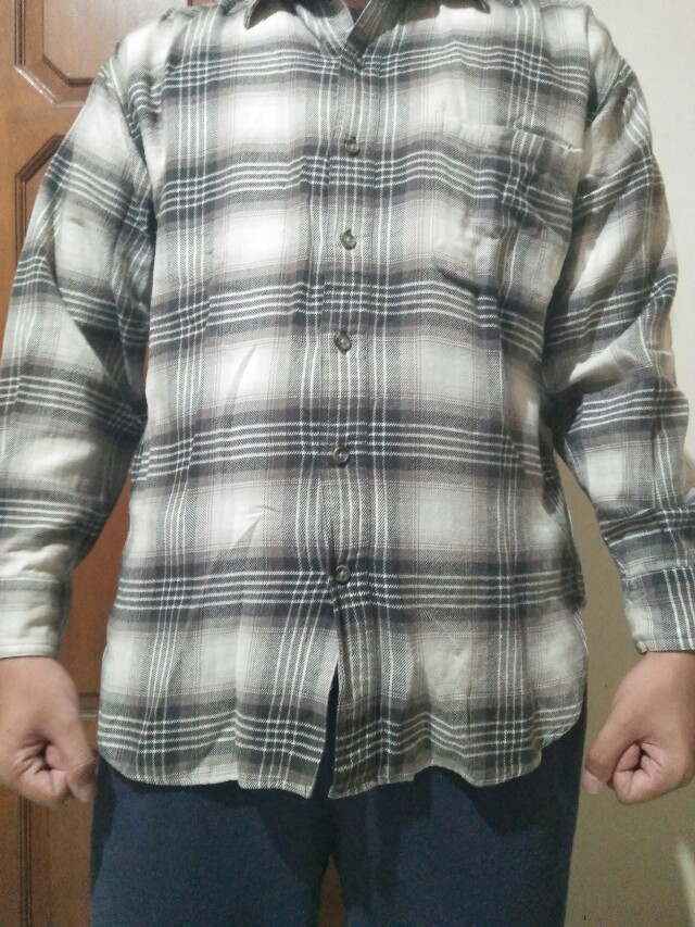 Flanel Uniqlo Original
