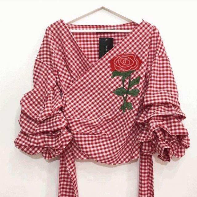 Kimono flow red