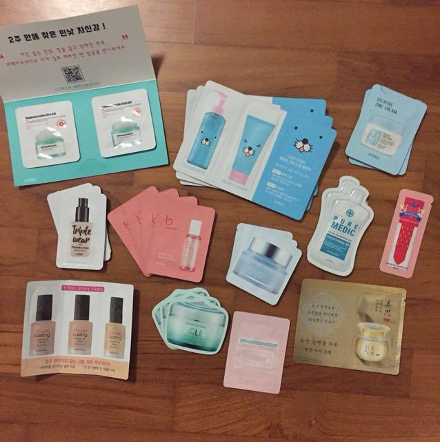 Korea Beauty Products Sampler Pack