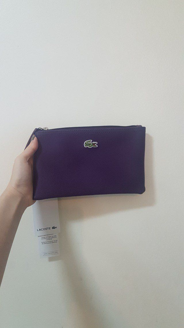 Lacoste mirror quality pouch