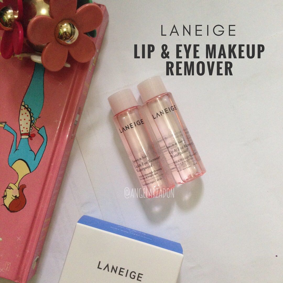 Laneige Eye Makeup Remover Daily Lip Make Up Waterproof Ex 25ml Photo Miniature