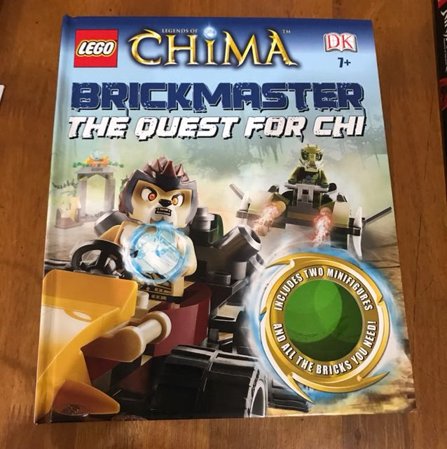 Lego Chima Brickmaster - book only