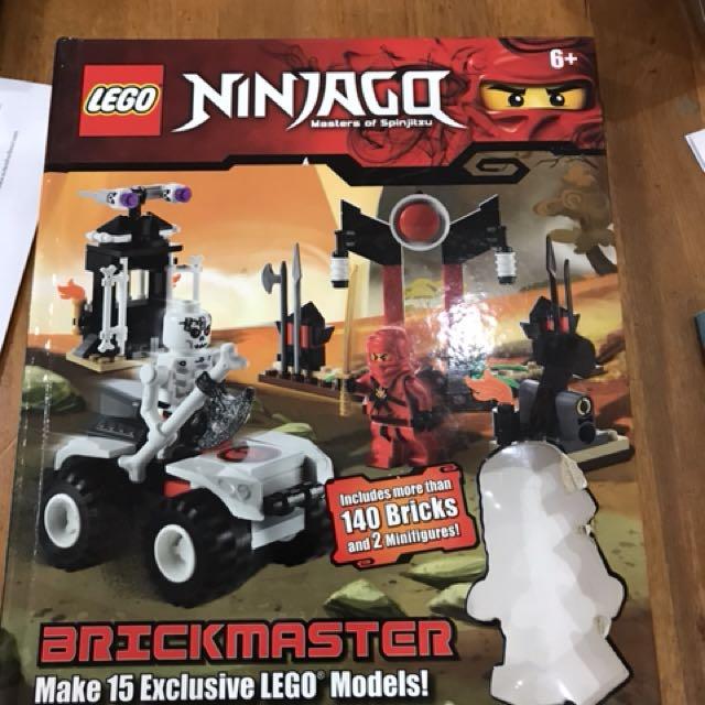 Lego Ninjago Book - no lego inside