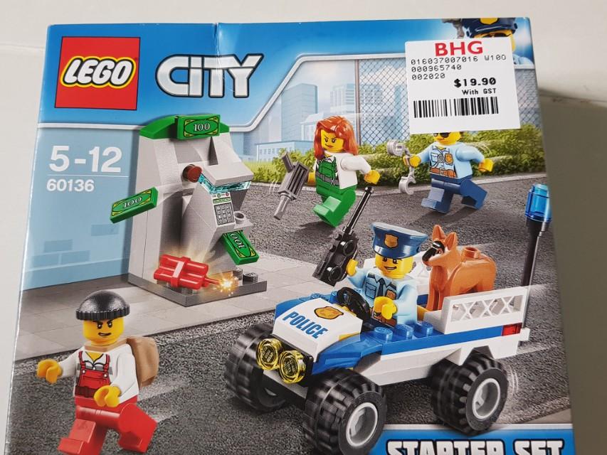 Lego police starter kit, Toys & Games, Toys on Carousell