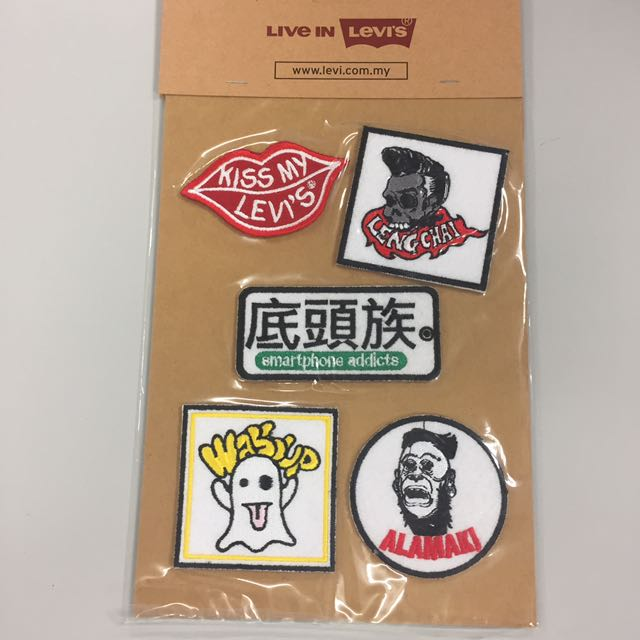 Levi's iron on patches
