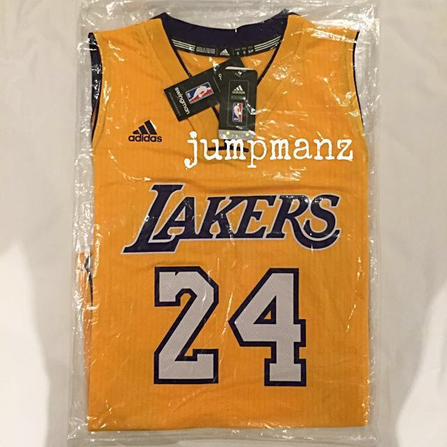 49cfaf704e18 Los Angeles Lakers Kobe Bryant  24 - NBA Adidas Swingman Jersey ...