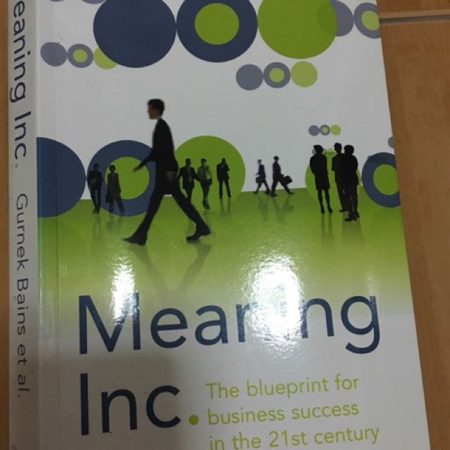 Meaning inc the blueprint for business success in the 21st century photo photo malvernweather Image collections