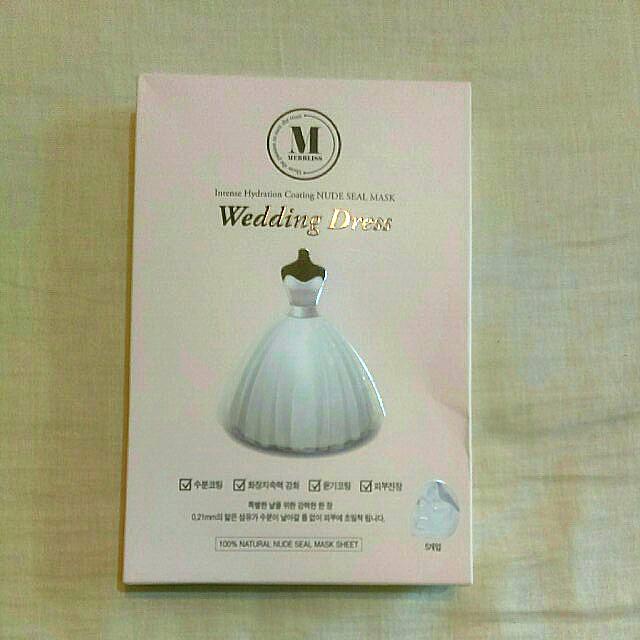 MERBLISS Wedding Dress 新娘婚紗面膜 [🎎韓國彩妝] #有超取最好買