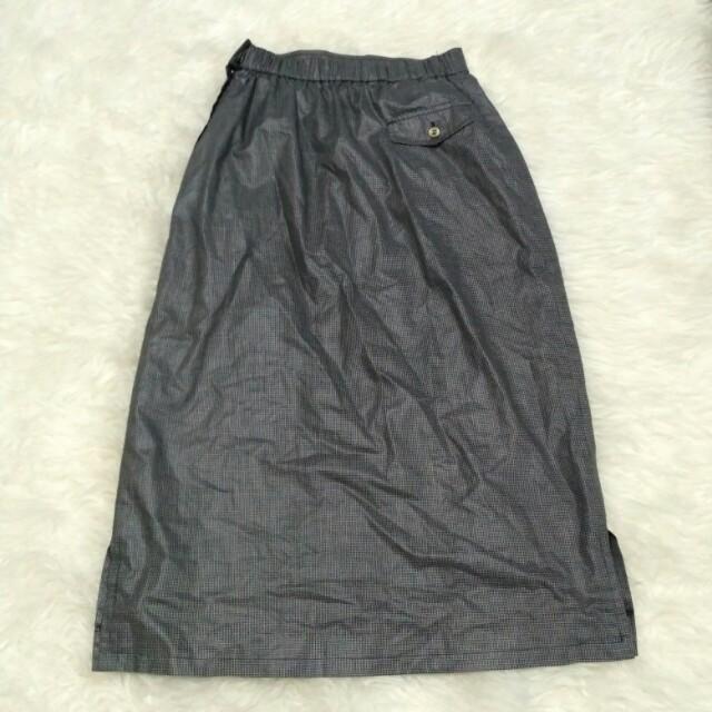 Midi Vintage Skirt Old School Korea