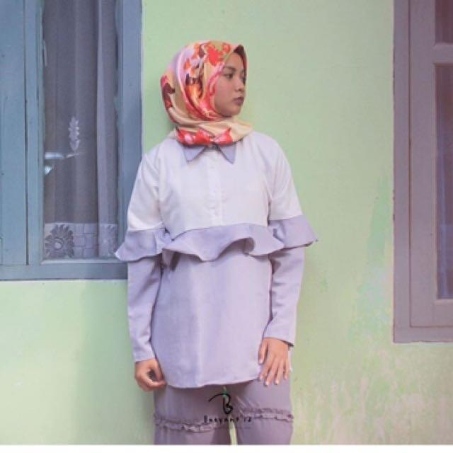 Naya blouse grey