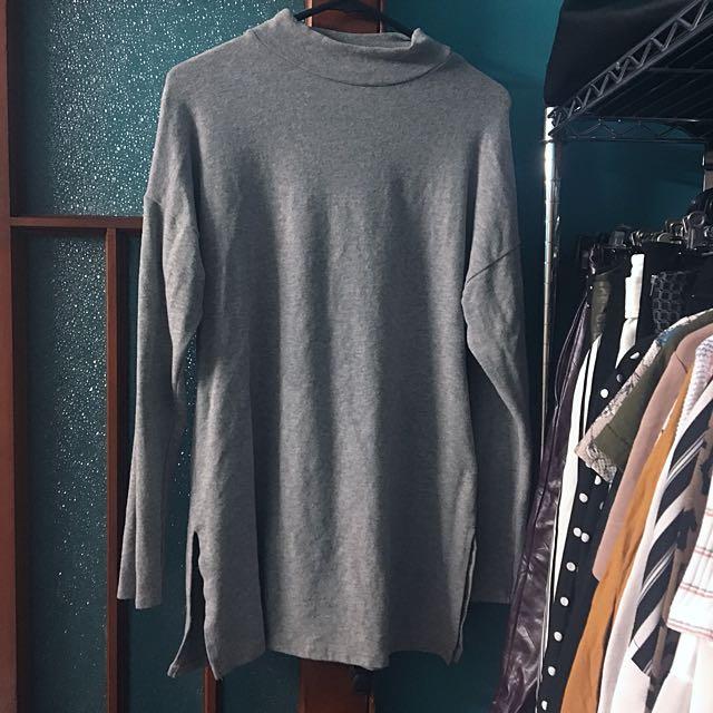 New Look Grey Knit Tunic