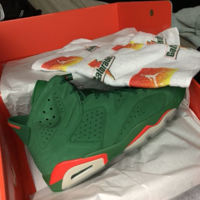 best sneakers 93d09 691d8 Nike Air Jordan 6 NRG Gatorade Like Mike