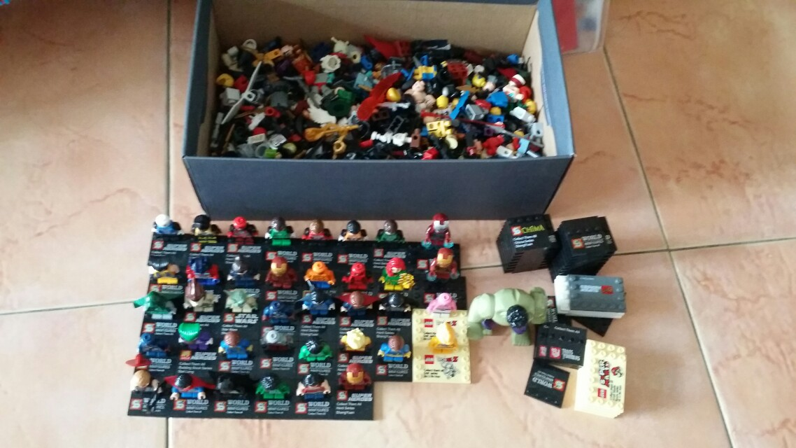 Building block minifigure all for $50, Toys & Games, Toys on Carousell