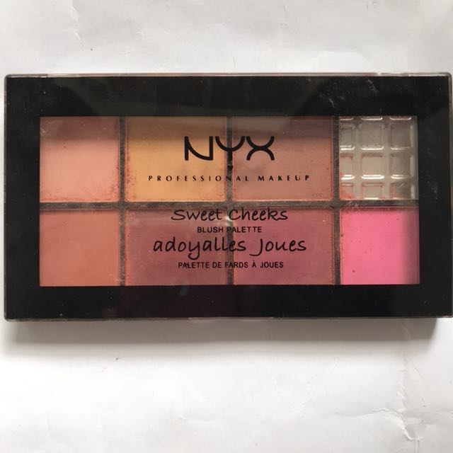NYX adorable blush palette
