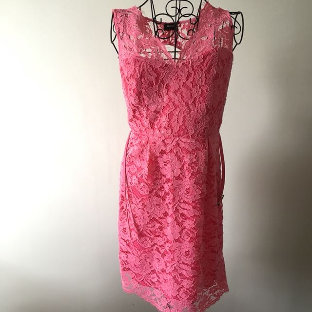 9db84f94d57d Oasis Pink Lace Dress, Women's Fashion, Clothes, Dresses & Skirts on ...