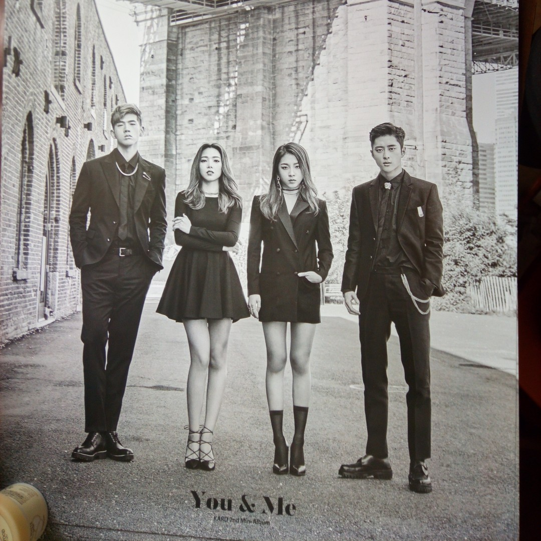 Official KARD posters- hola hola, you&me